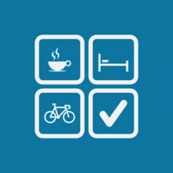 Tal van gelegenheden waar je als fietser meer dan welkom bent.