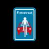 De fietsstraat, een relatief nieuw concept